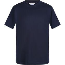Abbigliamento Unisex bambino T-shirt maniche corte Regatta  Blu navy