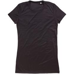 Abbigliamento Donna T-shirt maniche corte Stedman  Nero