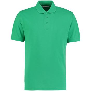 Abbigliamento Uomo Polo maniche corte Kustom Kit KK403 Verde kelly