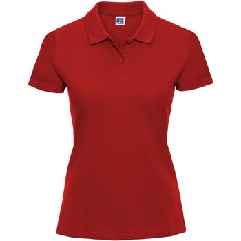 Abbigliamento Donna Polo maniche corte Russell 569F Rosso