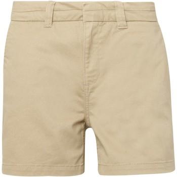 Abbigliamento Donna Shorts / Bermuda Asquith & Fox AQ061 Polvere