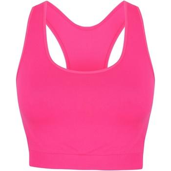Abbigliamento Donna Reggiseno sportivo Skinni Fit SK235 Rosa neon