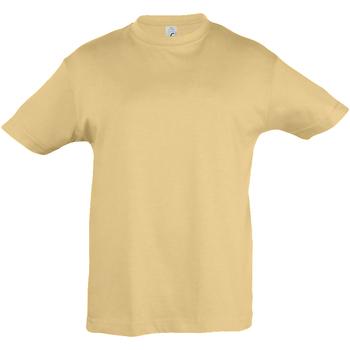 Abbigliamento Unisex bambino T-shirt maniche corte Sols 11970 Sabbia