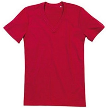 Abbigliamento Uomo T-shirt maniche corte Stedman Stars  Rosso