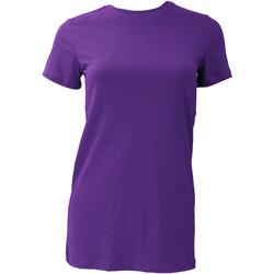 Abbigliamento Donna T-shirt maniche corte Bella + Canvas BE6004 Viola