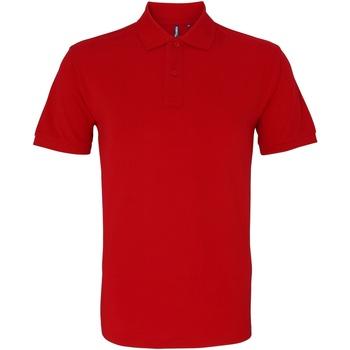 Abbigliamento Uomo Polo maniche corte Asquith & Fox AQ010 Rosso Ciliegia