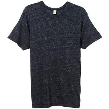 Abbigliamento Uomo T-shirt maniche corte Alternative Apparel AT001 Nero Eco