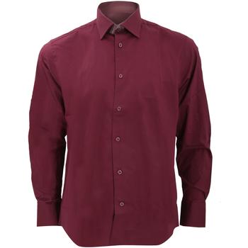 Abbigliamento Uomo Camicie maniche lunghe Russell 946M Rosso scuro