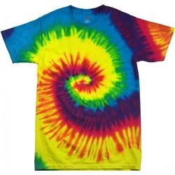 Abbigliamento Donna T-shirt maniche corte Colortone Rainbow Arcobaleno
