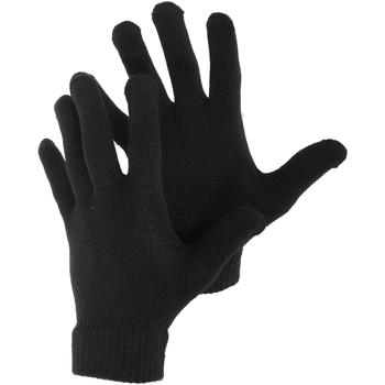 Accessori Uomo Guanti Universal Textiles  Nero
