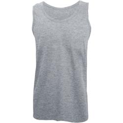 Abbigliamento Uomo Top / T-shirt senza maniche Gildan 64200 Grigio