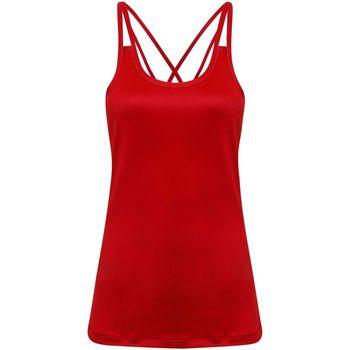 Abbigliamento Donna Top / T-shirt senza maniche Tridri TR029 Rosso fuoco