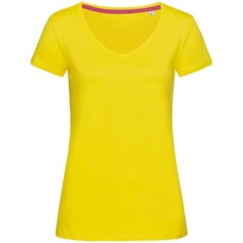 Abbigliamento Donna T-shirt maniche corte Stedman Stars Megan Giallo