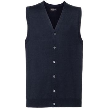 Abbigliamento Uomo Gilet / Cardigan Russell J719M Blu