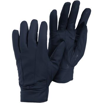 Accessori Donna Guanti Universal Textiles  Blu navy