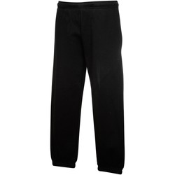 Abbigliamento Unisex bambino Pantaloni da tuta Fruit Of The Loom  Nero