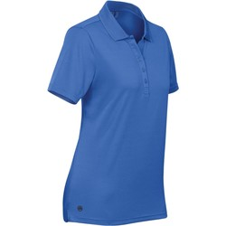 Abbigliamento Donna Polo maniche corte Stormtech PG-1W Azzurro