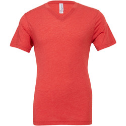 Abbigliamento Uomo T-shirt maniche corte Bella + Canvas CA3415 Rosso chiaro