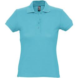 Abbigliamento Donna Polo maniche corte Sols 11338 Atollo