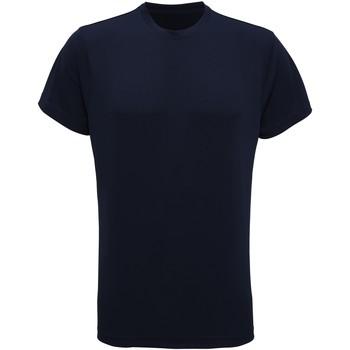 Abbigliamento Uomo T-shirt maniche corte Tridri TR010 Blu Navy