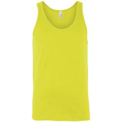 Abbigliamento Donna Top / T-shirt senza maniche Bella + Canvas CA3480 Giallo elettrico