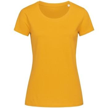 Abbigliamento Donna T-shirt maniche corte Stedman Stars  Giallo