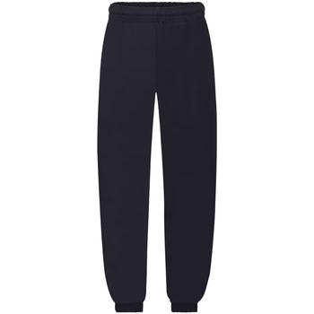 Abbigliamento Unisex bambino Pantaloni da tuta Fruit Of The Loom SS823 Blu scuro