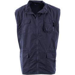 Abbigliamento Uomo Gilet / Cardigan Duke Enzo Blu navy