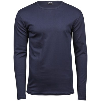 Abbigliamento Uomo T-shirts a maniche lunghe Tee Jays TJ530 Blu navy