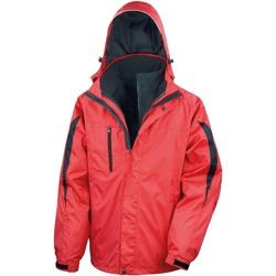 Abbigliamento Uomo giacca a vento Result R400M Rosso/Nero