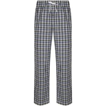 Abbigliamento Uomo Pigiami / camicie da notte Skinni Fit SFM83 Bianco/Scacchi