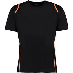 Abbigliamento Uomo T-shirt maniche corte Gamegear Cooltex Nero/Arancio fluorescente