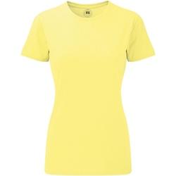 Abbigliamento Donna T-shirt maniche corte Russell 165F Giallo screziato