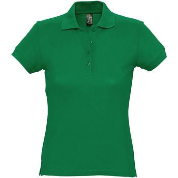 Abbigliamento Donna Polo maniche corte Sols 11338 Verde kelly