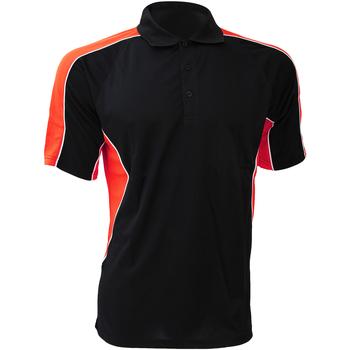 Abbigliamento Uomo Camicie maniche corte Gamegear KK938 Nero/Rosso