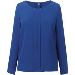 Abbigliamento Donna Top / Blusa Brook Taverner BR121 Blu reale