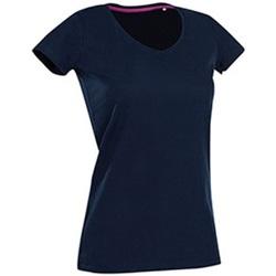 Abbigliamento Donna T-shirt maniche corte Stedman Stars Claire Blu scuro