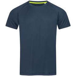 Abbigliamento Uomo T-shirt maniche corte Stedman  Blu reale