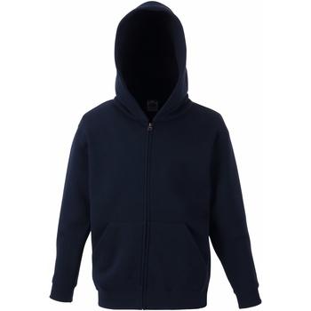 Abbigliamento Unisex bambino Felpe Fruit Of The Loom SS825 Blu scuro