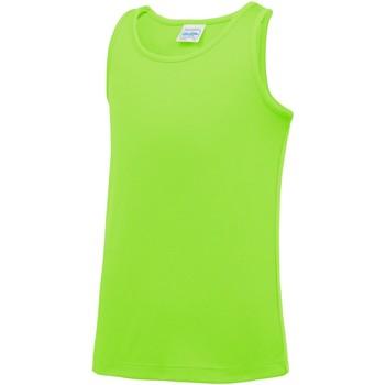 Abbigliamento Unisex bambino Top / T-shirt senza maniche Awdis JC07J Verde Elettrico