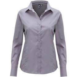 Abbigliamento Donna Camicie Premier PR314 Acciaio