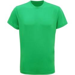 Abbigliamento Uomo T-shirt maniche corte Tridri TR010 Verde kelly acceso