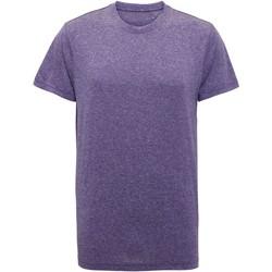 Abbigliamento Uomo T-shirt maniche corte Tridri TR010 Viola melange