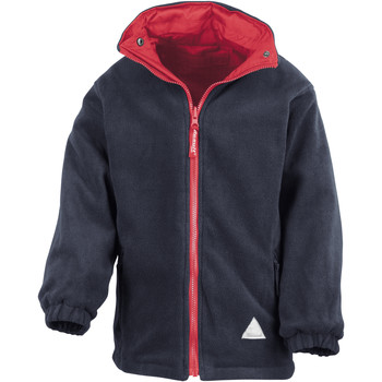 Abbigliamento Unisex bambino Felpe in pile Result R160JY Rosso/Blu navy
