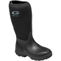 Scarpe Donna Stivali da pioggia Grubs Boots  Nero