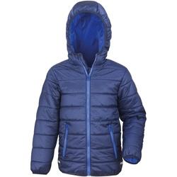 Abbigliamento Unisex bambino Piumini Result R233JY Bly Navy/Blu reale