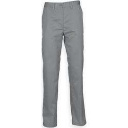 Abbigliamento Uomo Chino Henbury HB640 Grigio acciaio