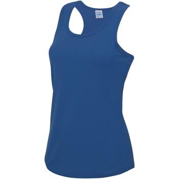 Abbigliamento Donna Top / T-shirt senza maniche Awdis JC015 Blu reale
