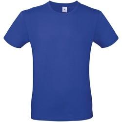 Abbigliamento Uomo T-shirt maniche corte B And C TU01T Blu cobalto
