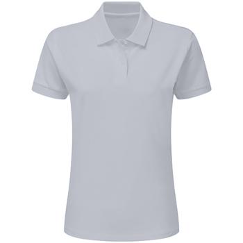 Abbigliamento Bambino Polo maniche corte Sg SG59K Grigio chiaro